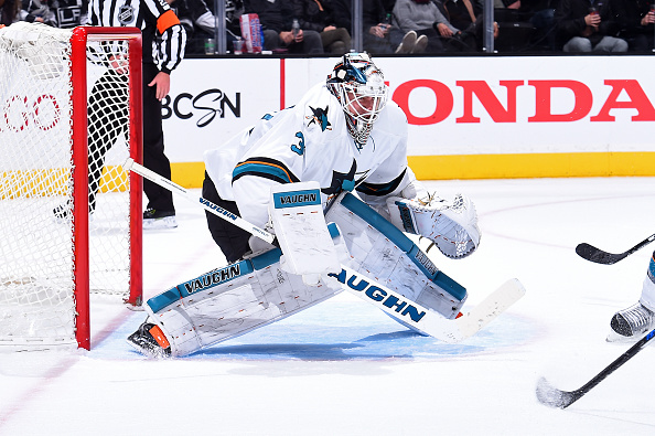 Martin Jones continues strong stretch against LA Kings in 4-1 w…