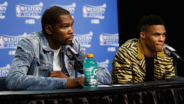 Considering Russell Westbrook's future after Kevin Durant broke…