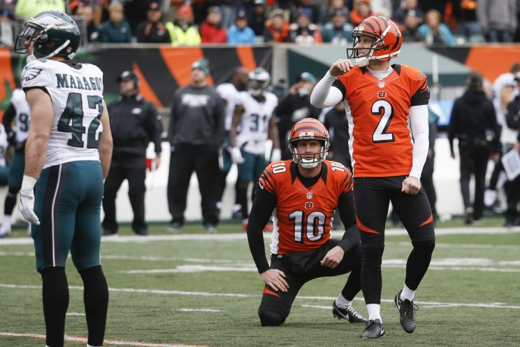 Mike Nugent's extra point yips sum up the NFL's kicking fiasco …