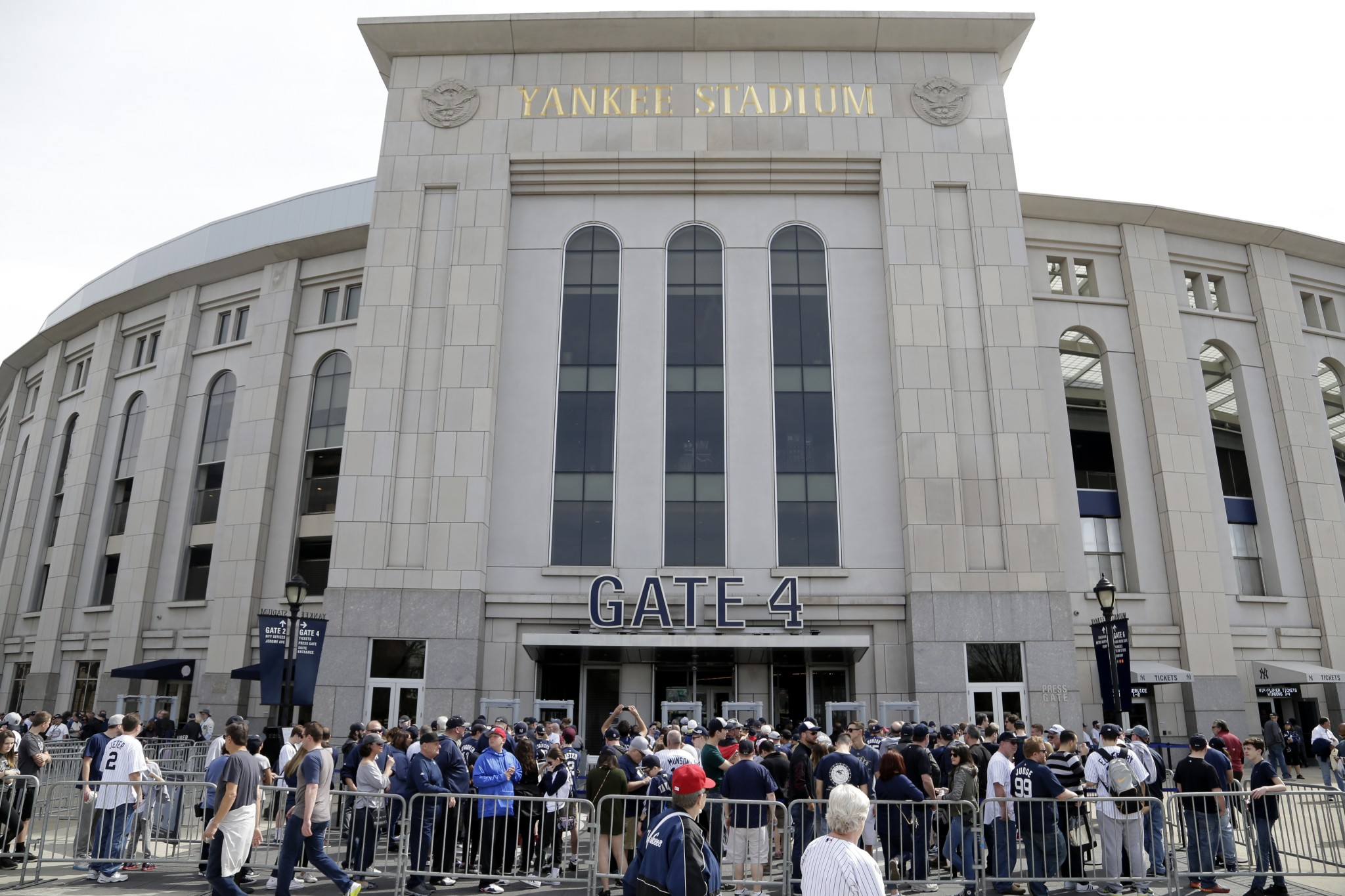 The Yankees' attendance is down about 3,800 per game from last season. (AP)