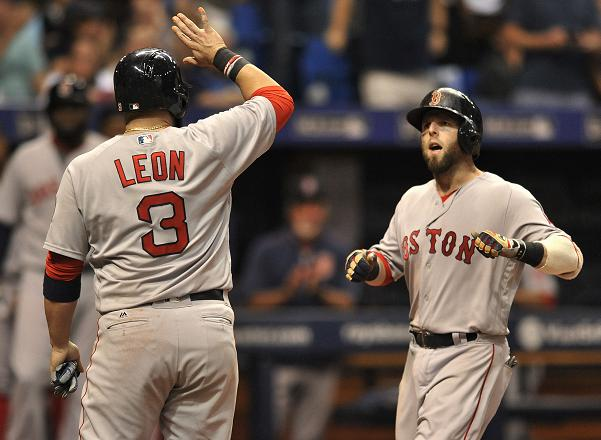 Dustin Pedroia's grand slam helps Red Sox clinch playoff berth