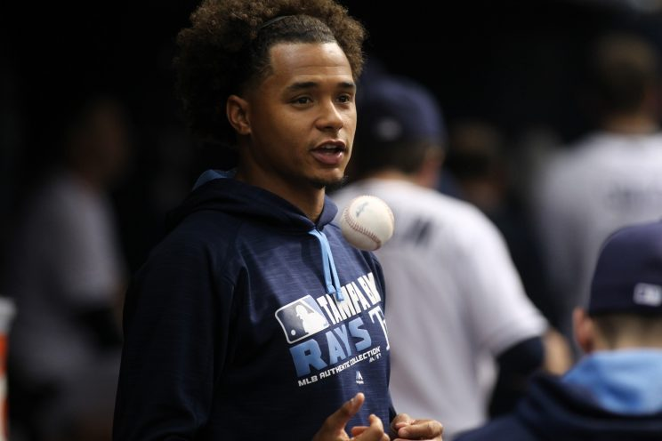 Chris Archer's toughest opponent Tuesday was his hoodie