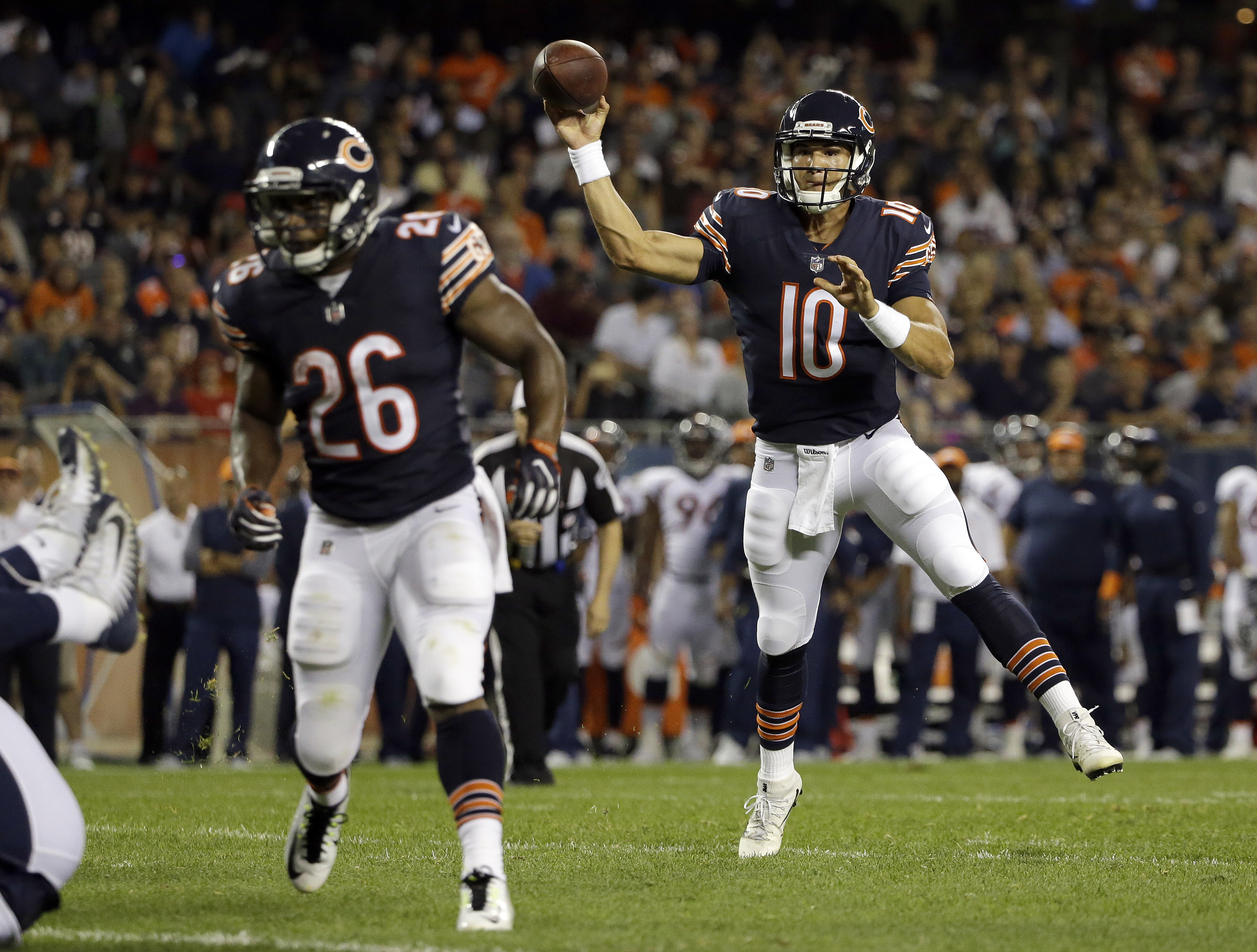 Five players to watch: What will Mitch Trubisky do for an encore?
