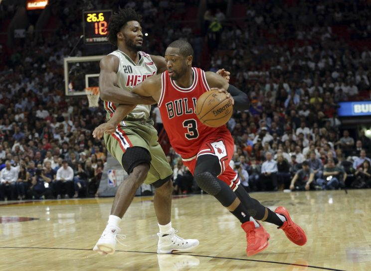 Dwyane Wade gets warm welcome, relives good times in Miami retu…
