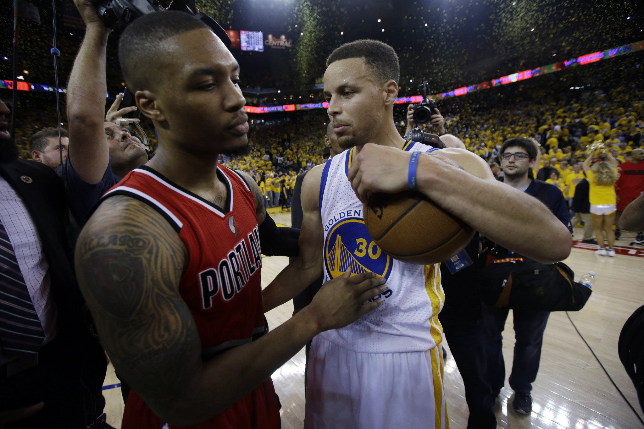'Hell no,' Damian Lillard doesn't want to play for the Warriors
