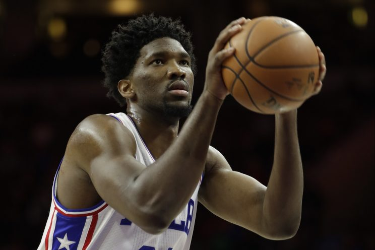 Joel Embiid wasn't happy his minutes limit kept him from a seco…