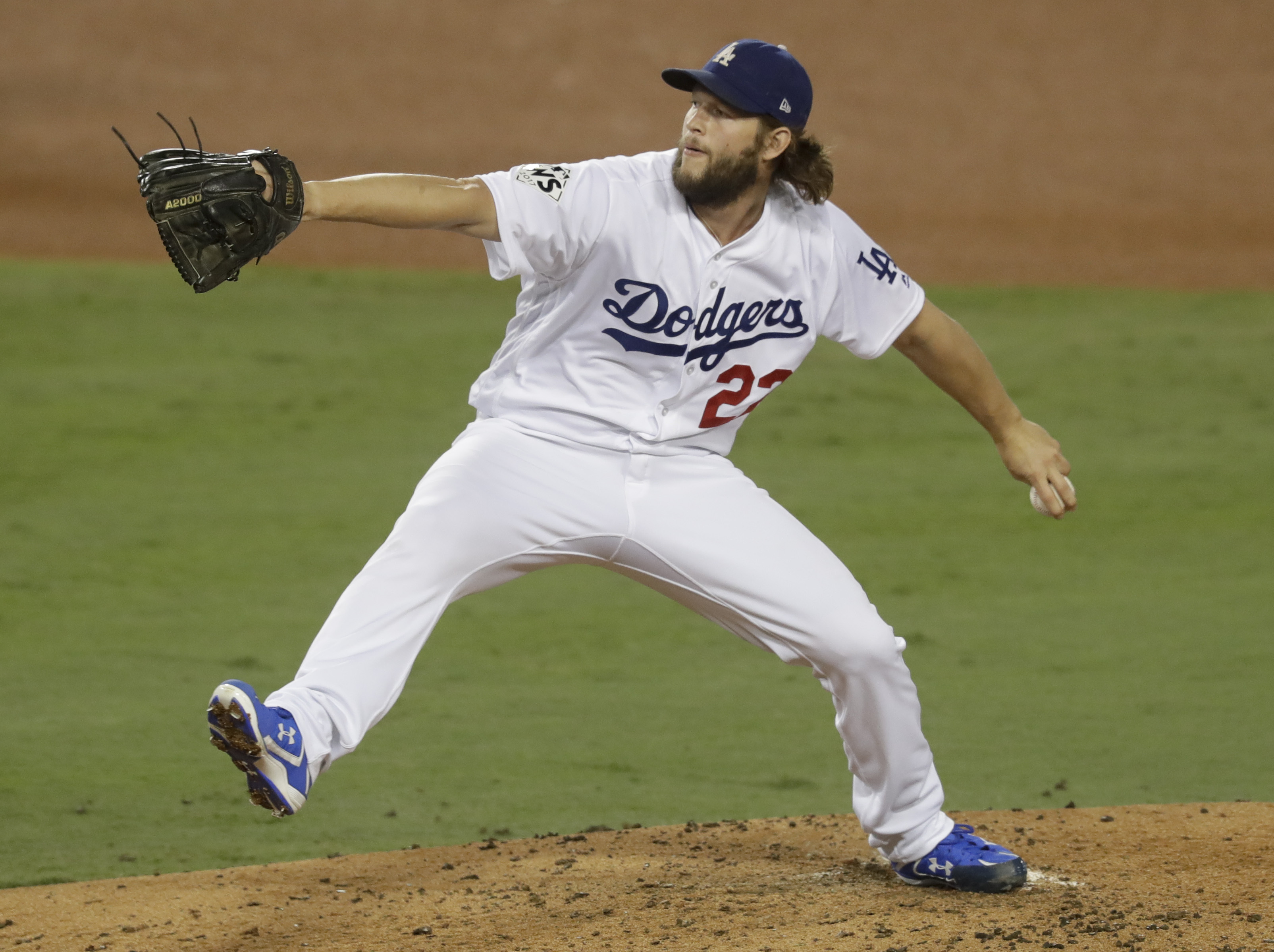 Can Clayton Kershaw win his fourth Cy Young? (AP)