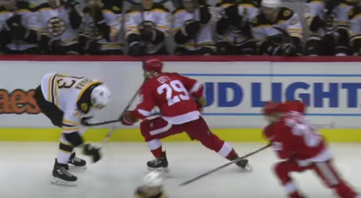 Steve Ott fined for spearing Zdeno Chara's mid-section (Video)