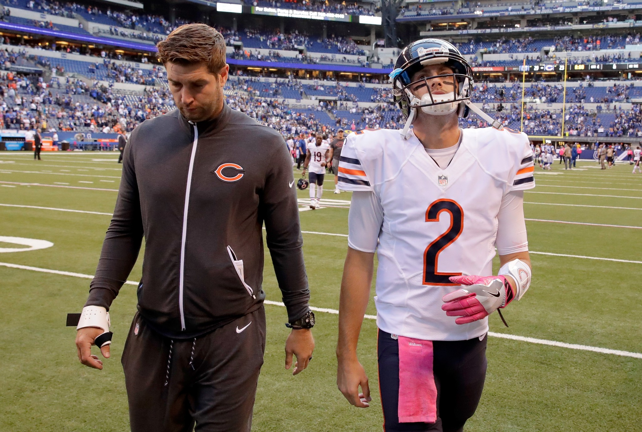 Bears have a QB decision —Hoyer or Cutler —but does it really…