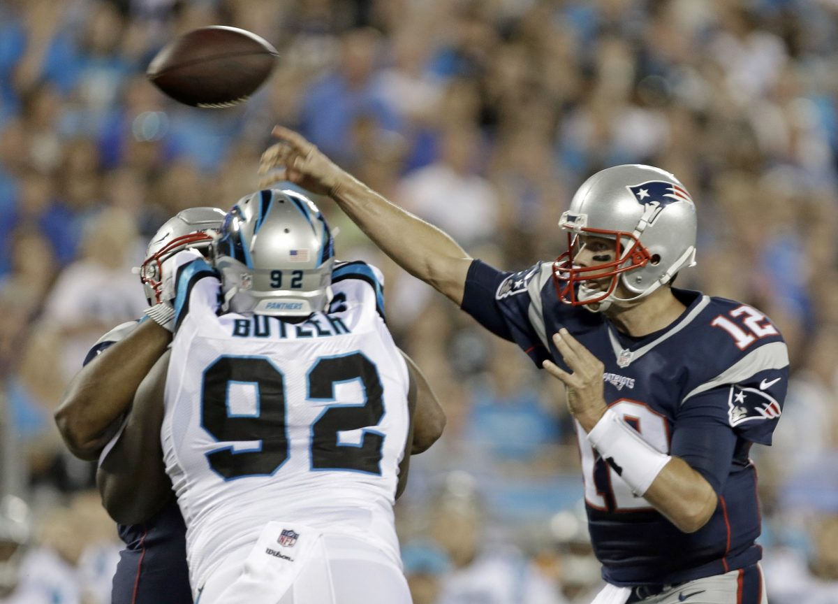 Brady Sharp in Preseason Debut; Patriots Top Panthers 19-17