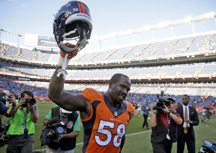Von Miller credits his blazing start to 'Dancing With the Stars'