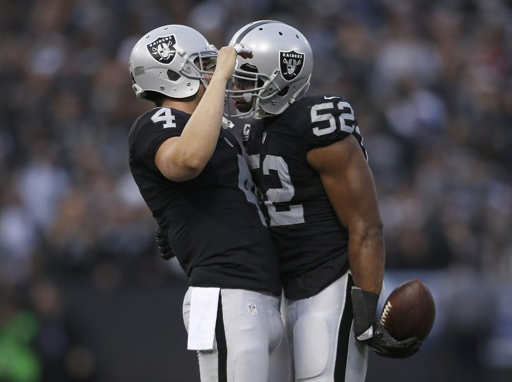 NFL Winners and Losers: Khalil Mack and the Oakland Raiders are…