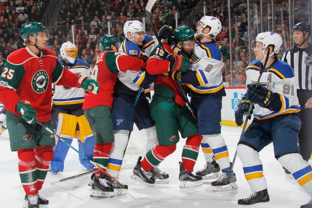 All Central Division in Round 1: Blues vs. Wild, Predators vs. Blackhawks