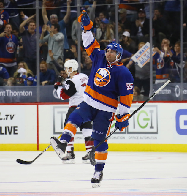 NHL Three Stars: Boychuk's shorty leads Isles; Bob beats Blackh…