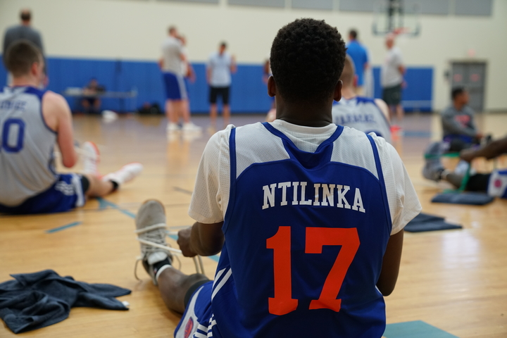 That is not how you spell Frank Ntilikina's name, Knicks. (Photo via Knicks.com)