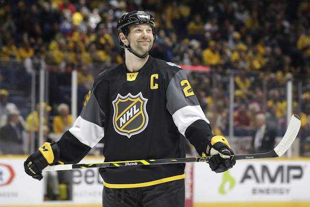John Scott, unlikely NHL All-Star, announces his retirement