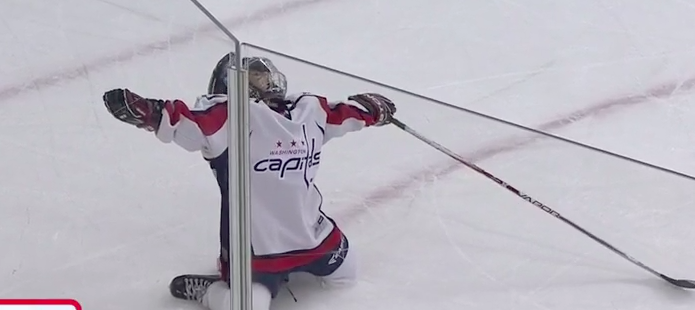 Capitals' Mite on Ice scores great goal, delivers better celebr…