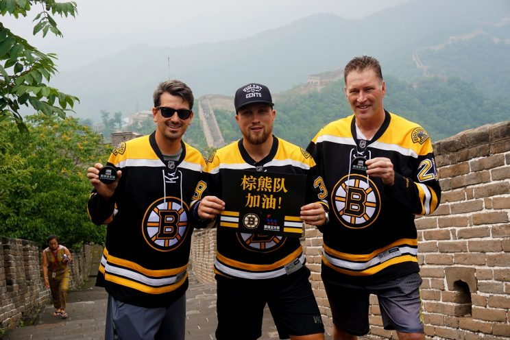 Boston Bruins grow game in eye opening trip to China