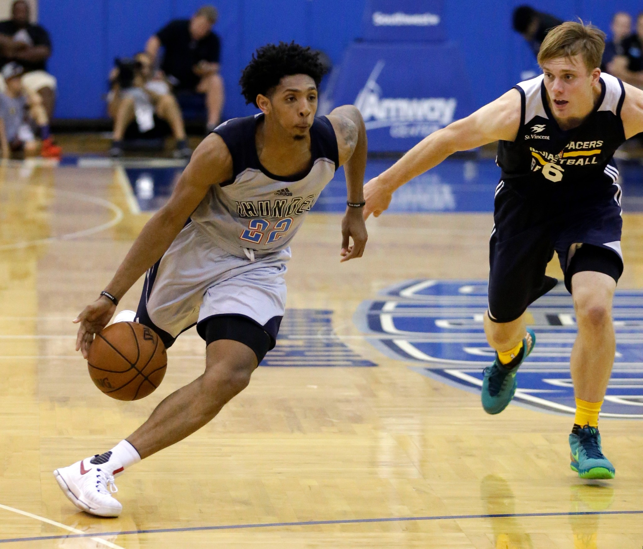 OKC's Cameron Payne breaks bone in right foot for 2nd time this…