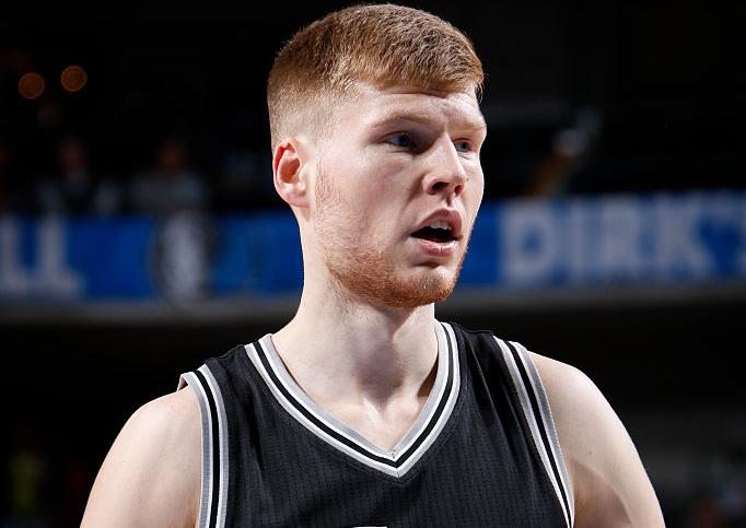 Latvian big man Davis Bertans won the Spurs-Bucks fight with hi…