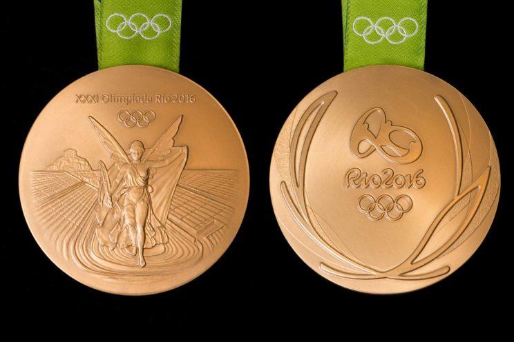 Olympic gold medal - Rio 2016 Games. Image credits: Rio 2016 | http://ift.tt/1J88g4O