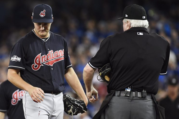 Trevor Bauer got a hilarious psych-out gift from a Cubs fan