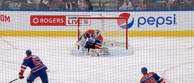 Cam Talbot allows soft Ryan O'Reilly goal from center ice (Vide…
