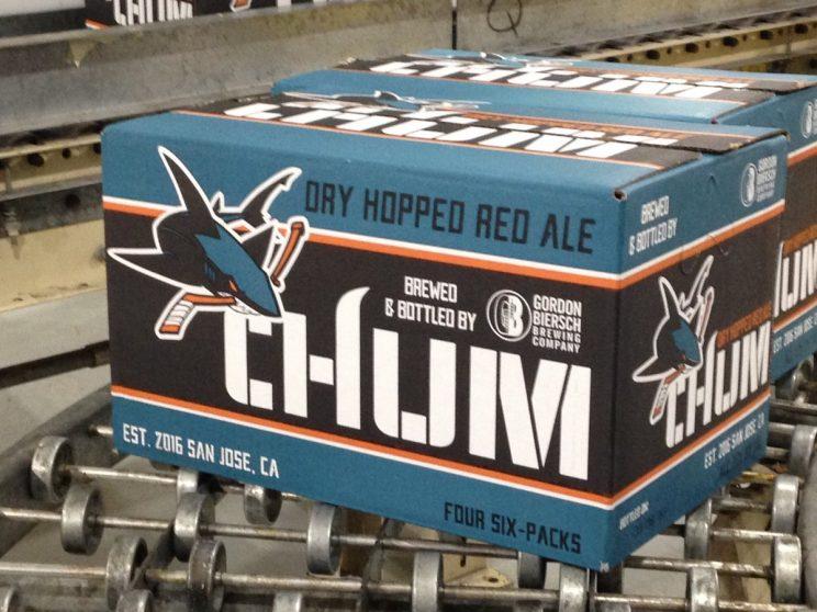 San Jose Sharks help create custom 'Chum' red ale