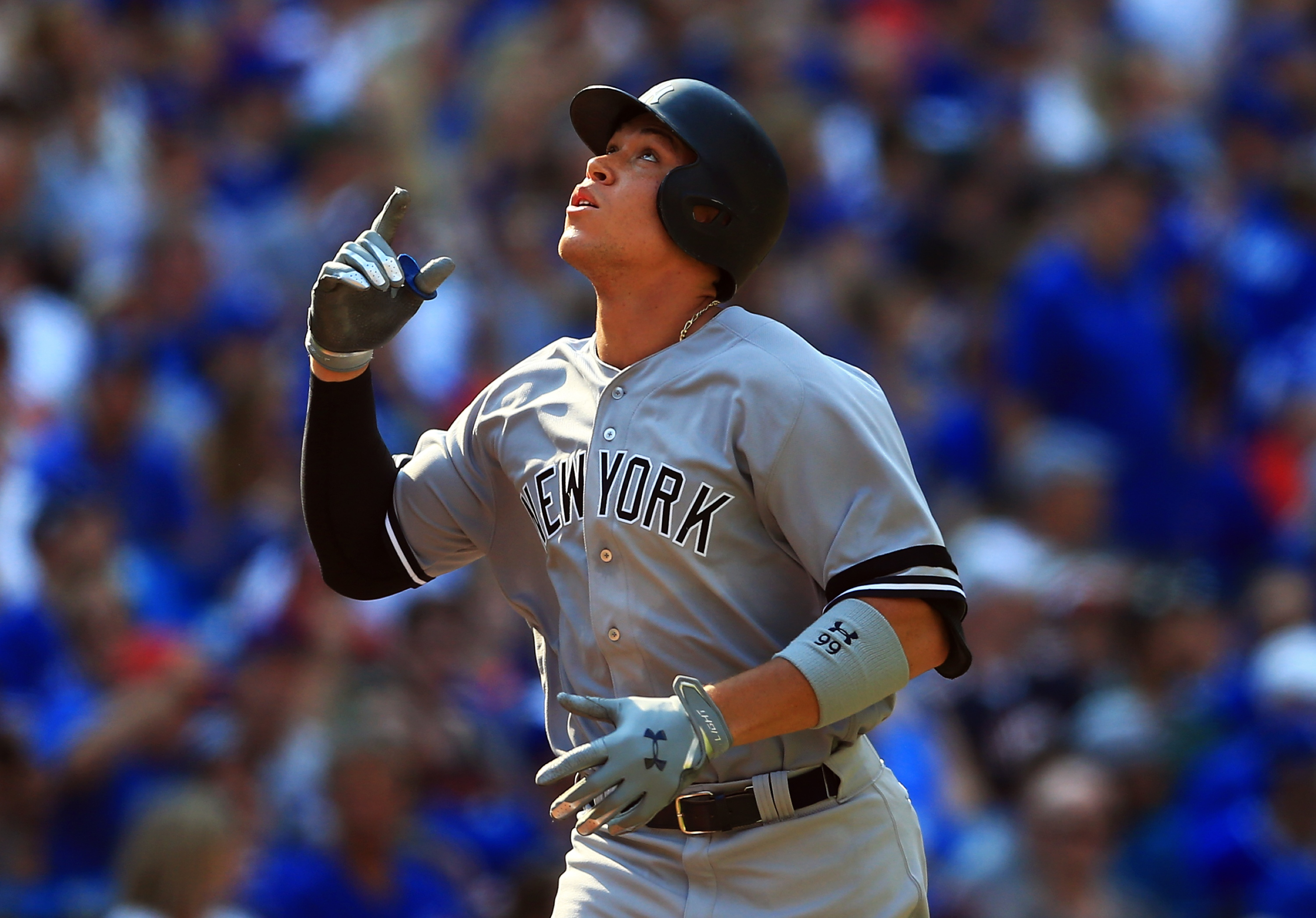Aaron Judge now one homer away from Mark McGwire's rookie record
