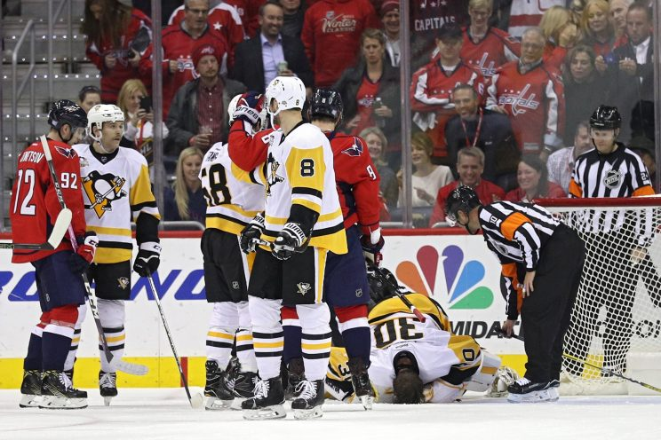 Matt Murray kept out of Penguins' loss for 'sense' not injury