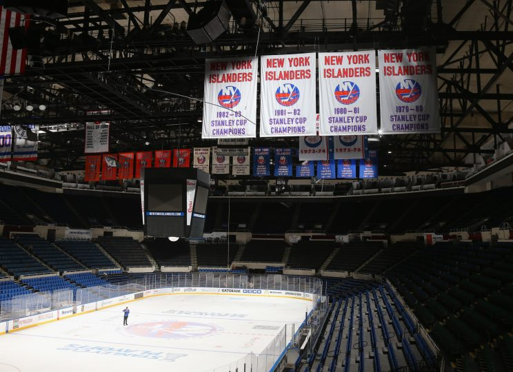 Islanders Playing In Nassau Coliseum Again At Least For