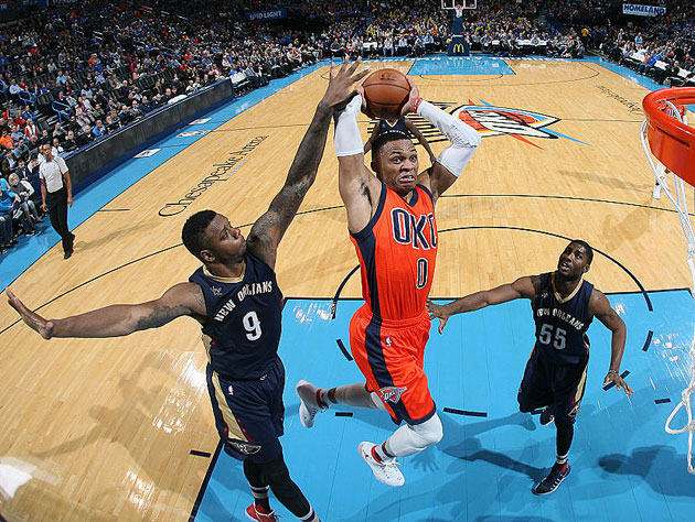 Giannis Antetokounmpo, Russell Westbrook named Players of the W…