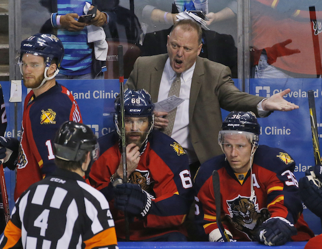 Panthers' coaching change, Carolina and Dougie Hamilton (Puck D…