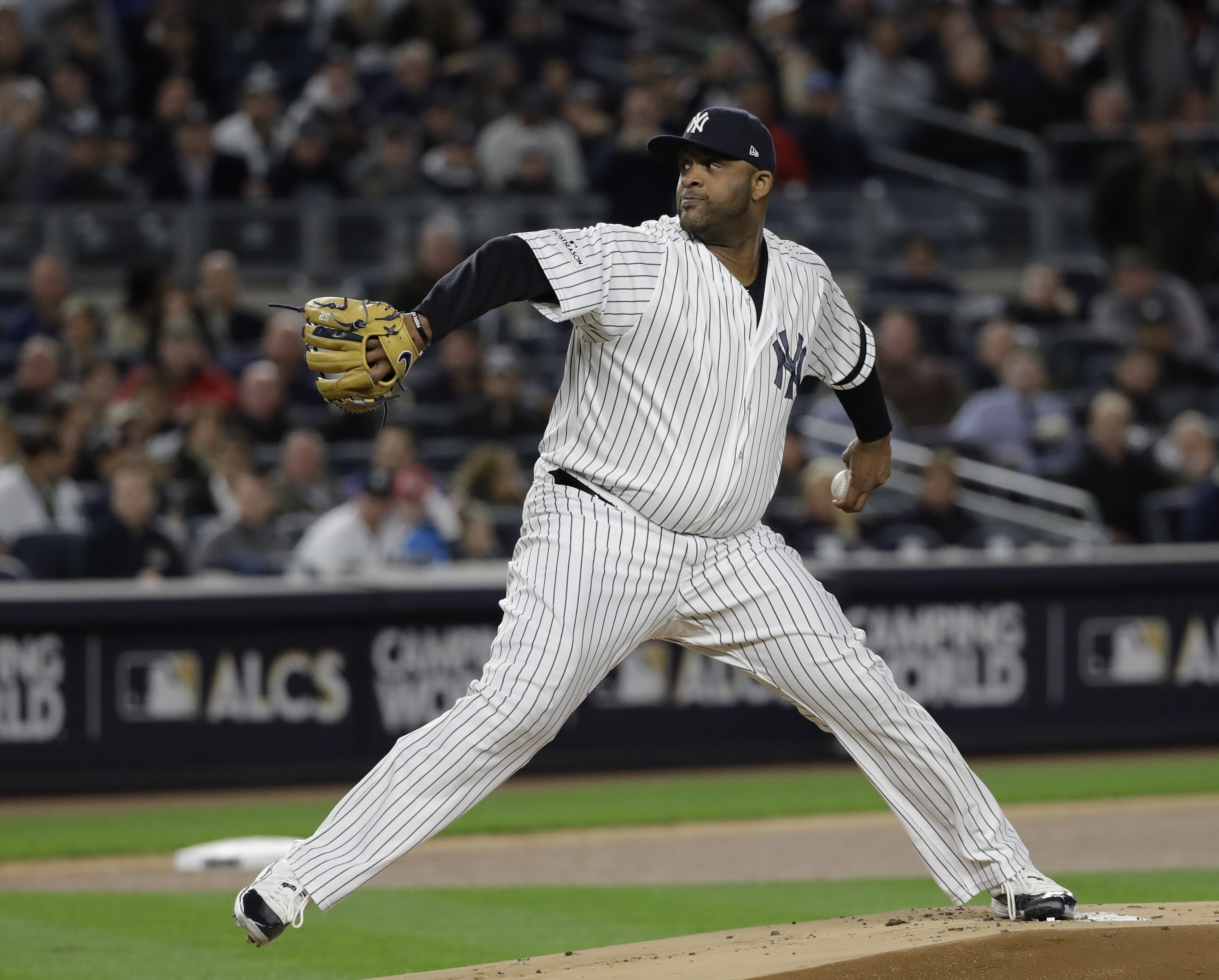 Yankees relying on a resurgent CC Sabathia to send them to World Series