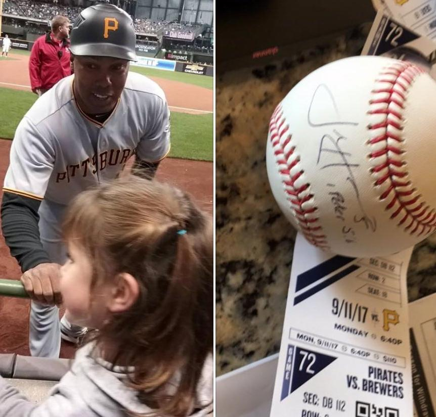 Josh Harrison and the Pirates saved a young fan's first MLB game