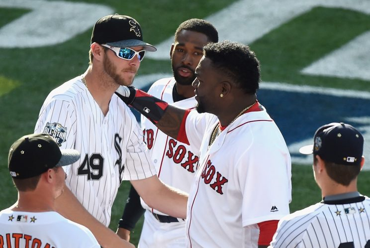 David Ortiz teases return after Red Sox trade for Chris Sale