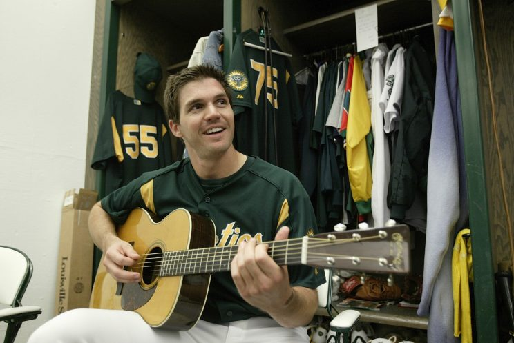 Barry Zito has reinvented himself as a country singer