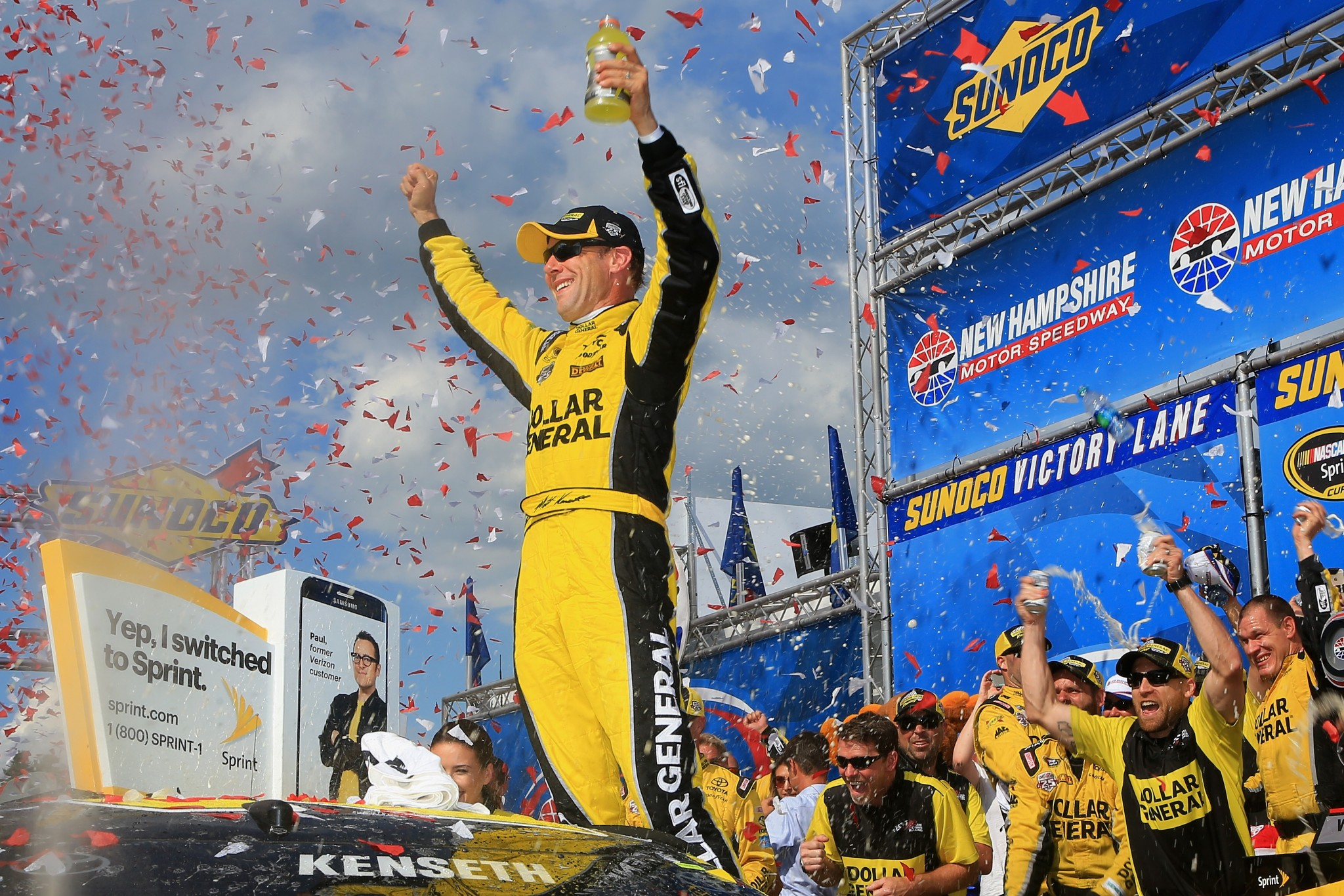 Matt Kenseth's second-straight New Hampshire win is his second of 2016 (Getty).