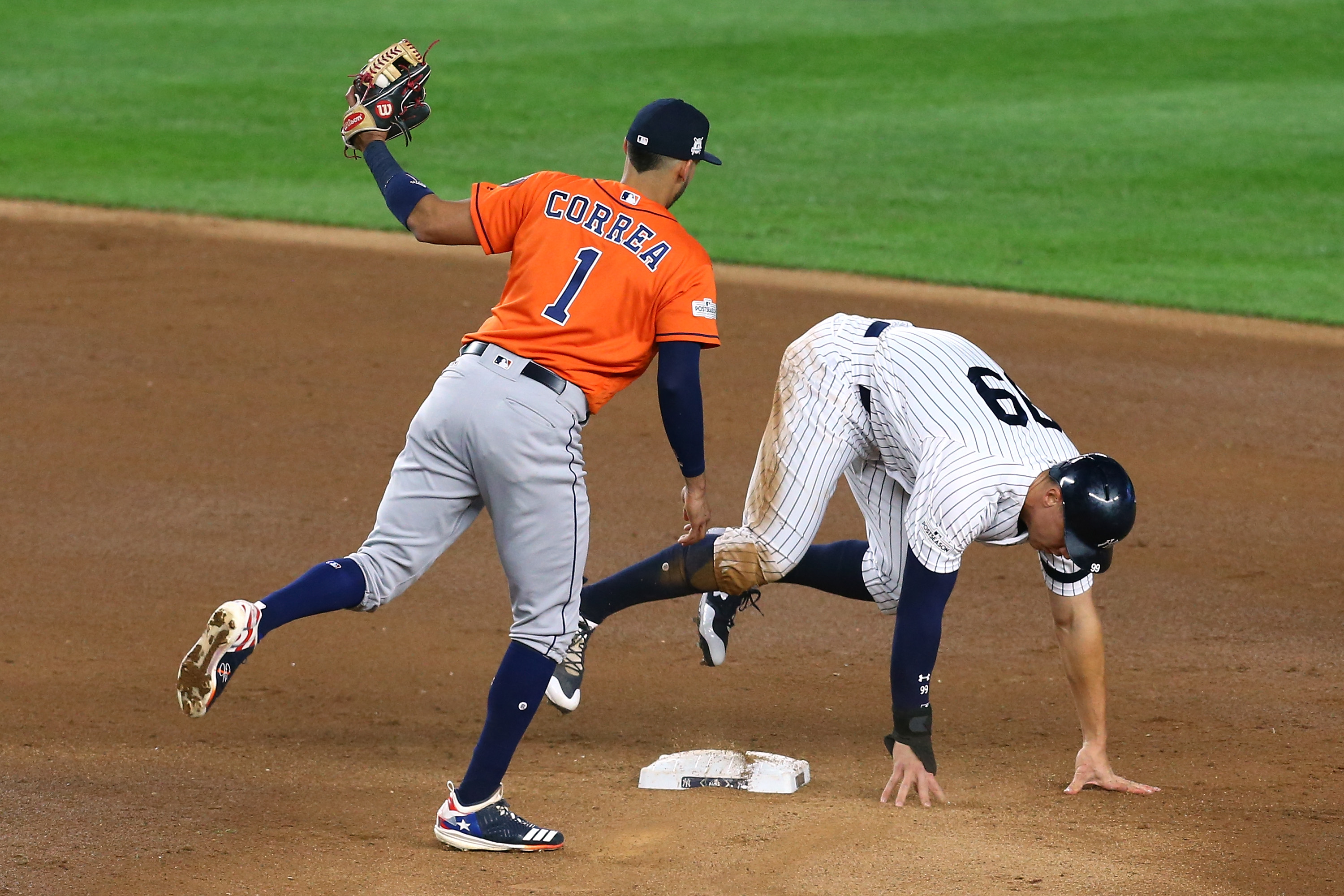 Aaron Judge's base-running blunder leads to confusing replay mess