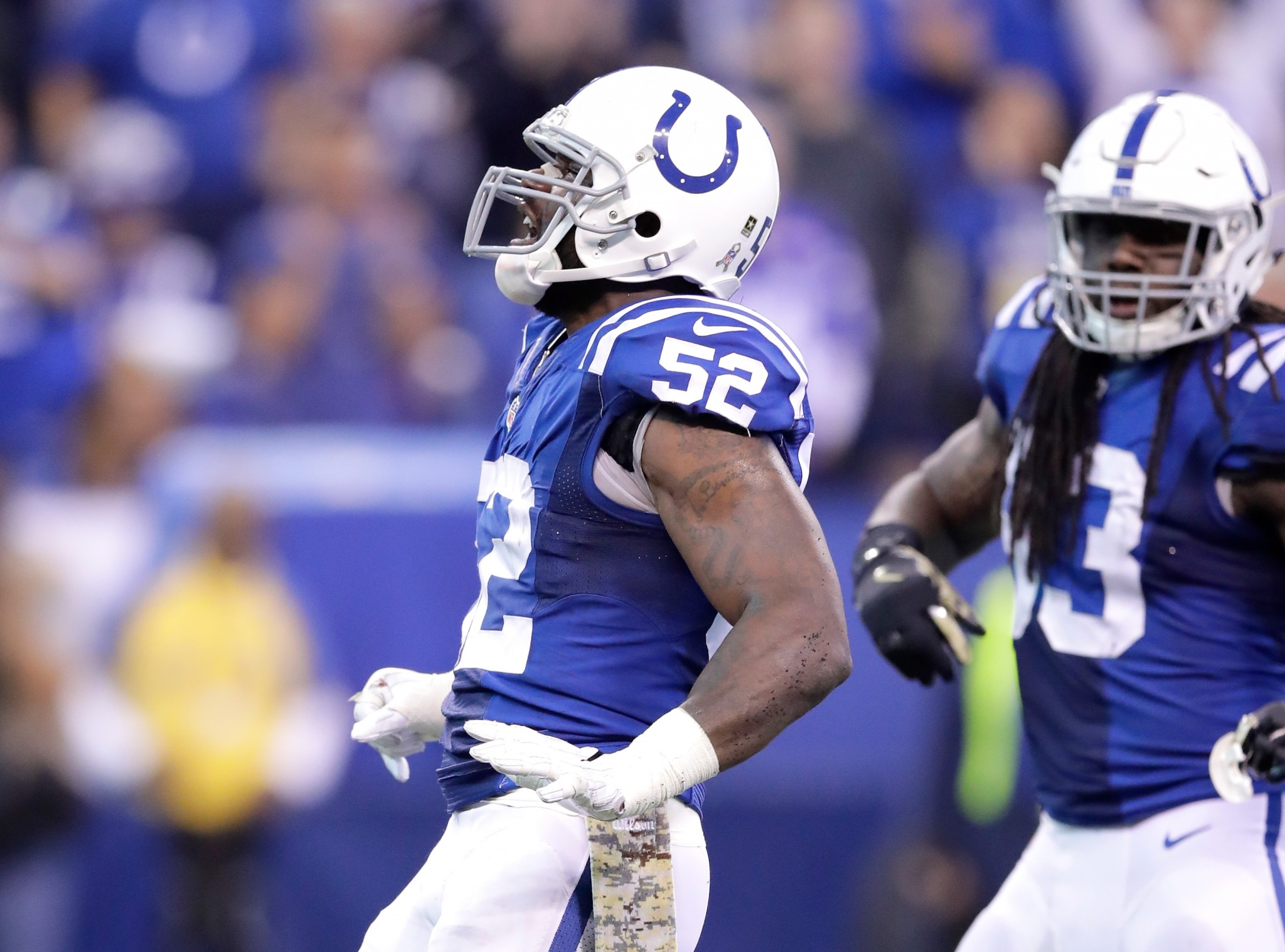 Colts promote linebacker after D'Qwell Jackson suspension