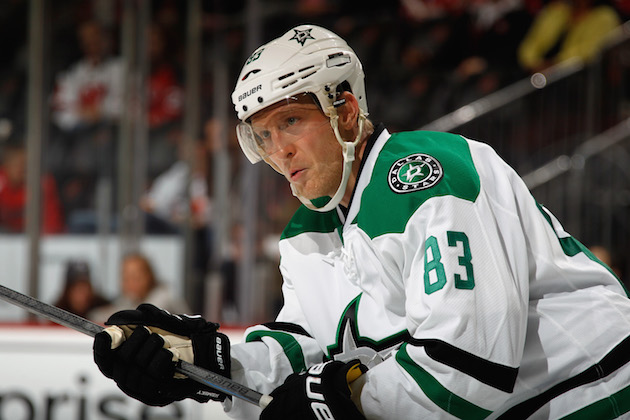 Stars' Ales Hemsky to miss 5-6 months after hip surgery