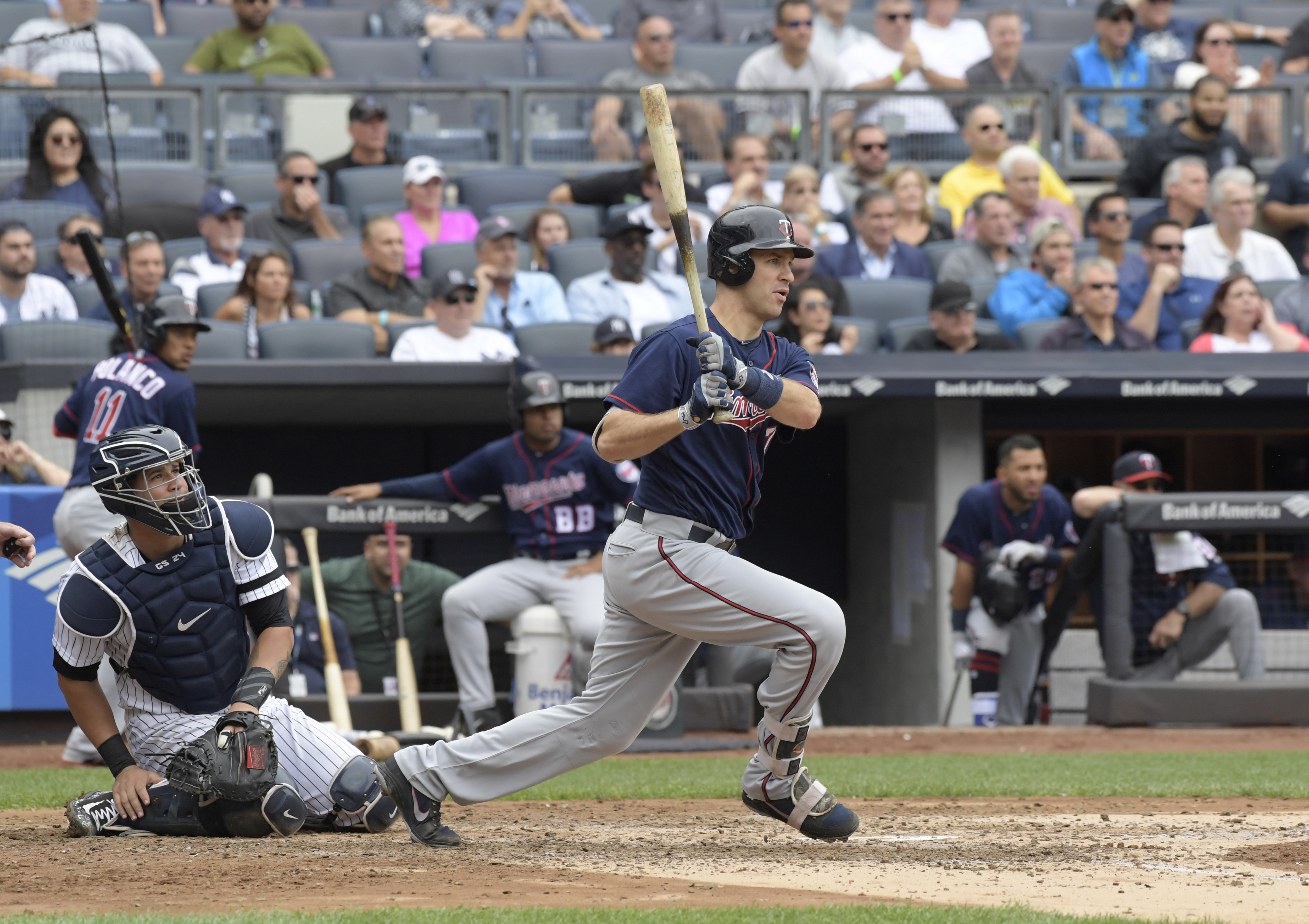 Joe Mauer continues to dominate the second half of the season