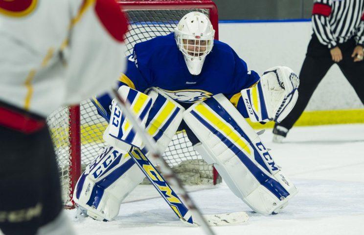 Canucks turn to college goaltender as emergency backup vs. Blue…