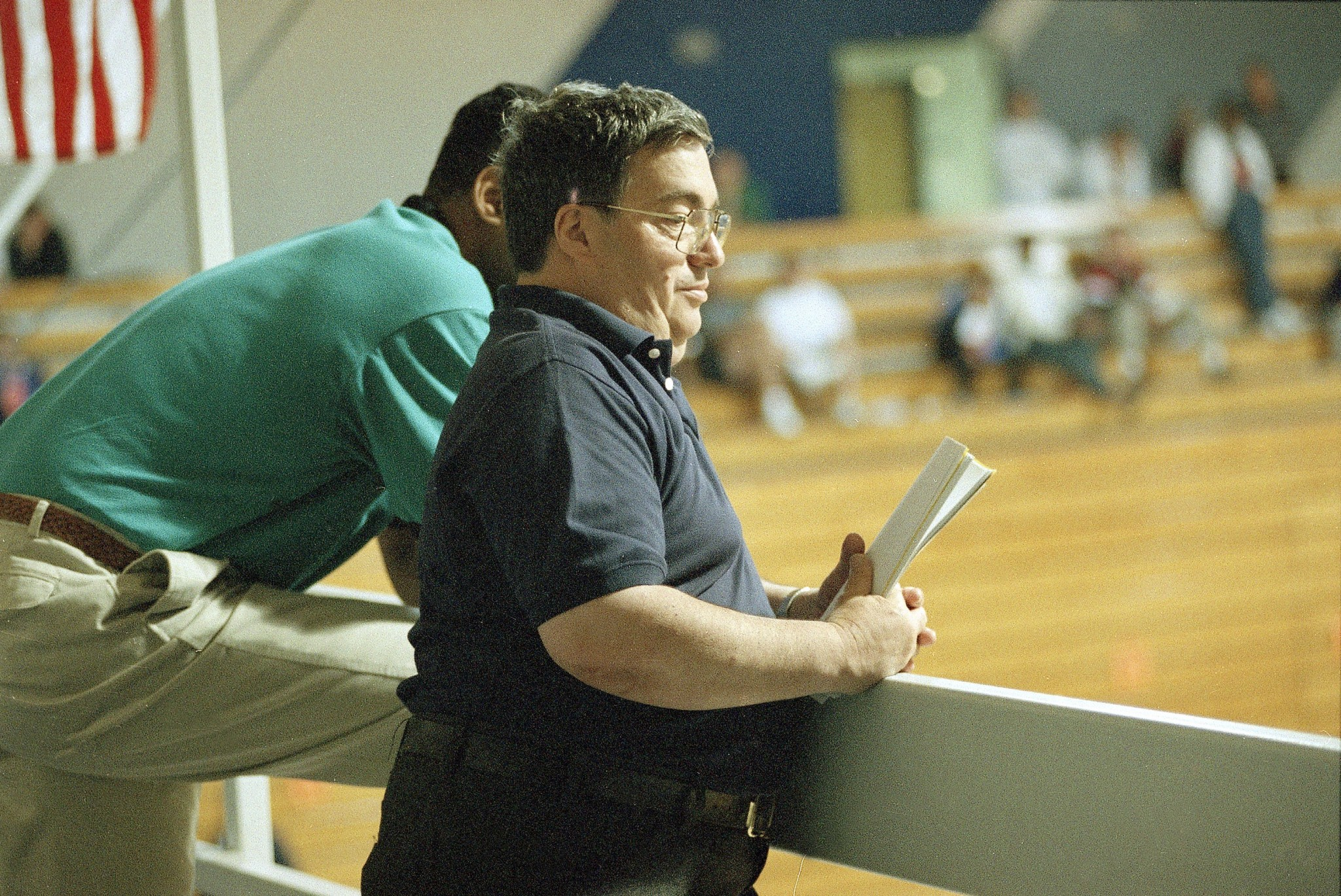 Jerry Krause at a pre-draft camp in 1995 as Bulls GM. (AP)