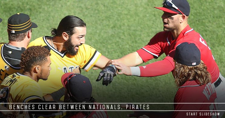 Drama between Nationals and Pirates as Bryce Harper leaves inju…
