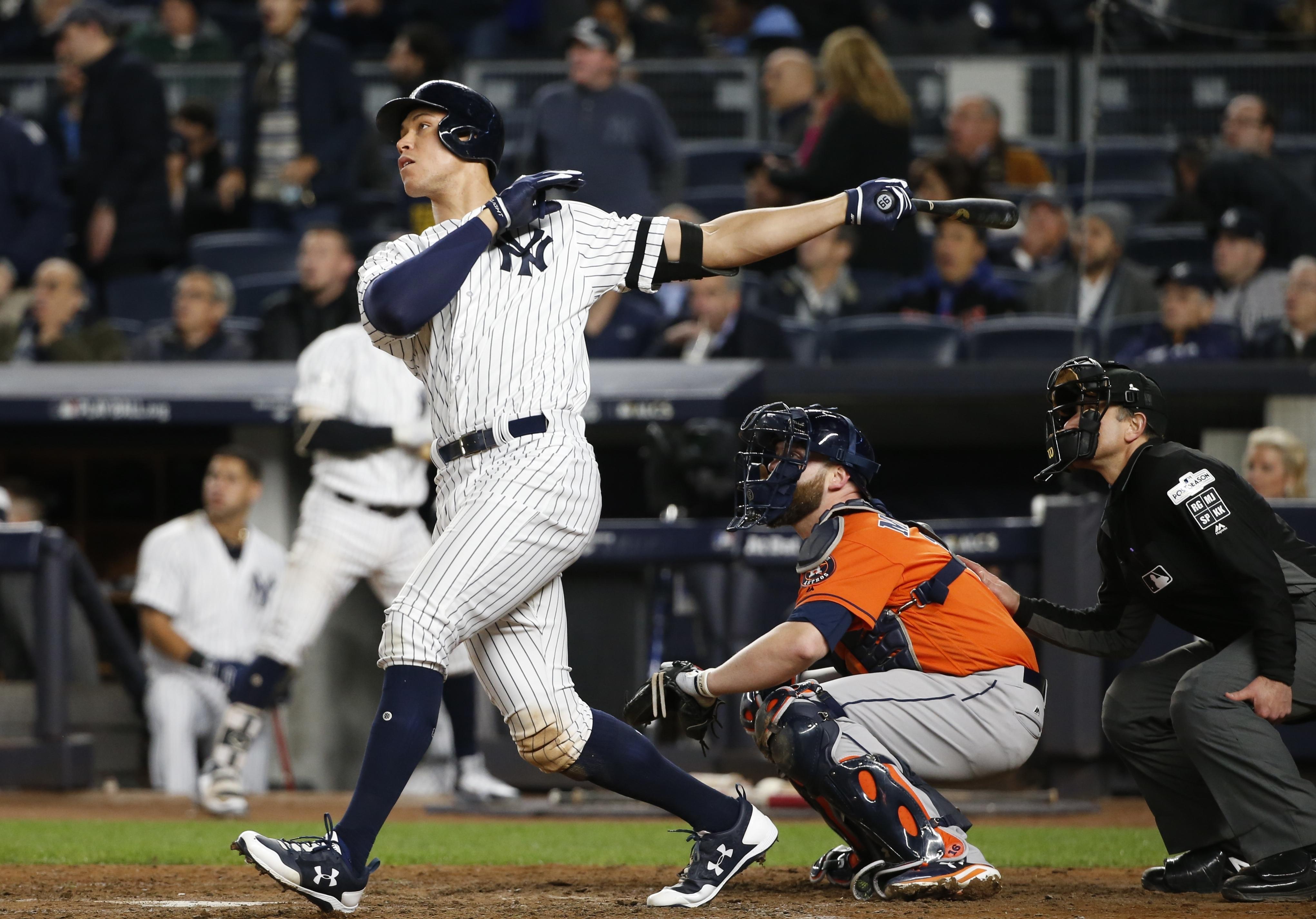 Aaron Judge's bat awakens during Yankees comeback win in Game 4