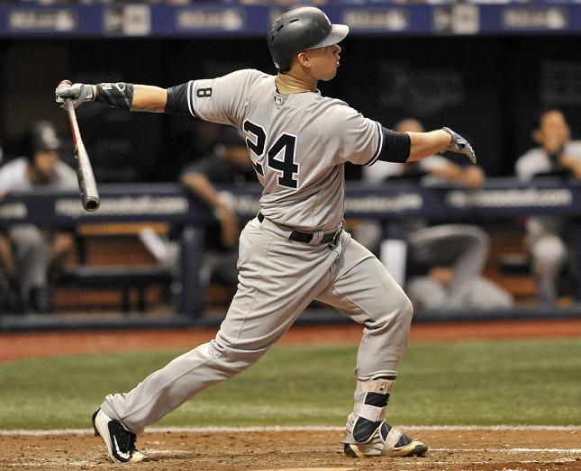 Sanchez Hits 2 More Homers, Yankees Beat Rays 11-5