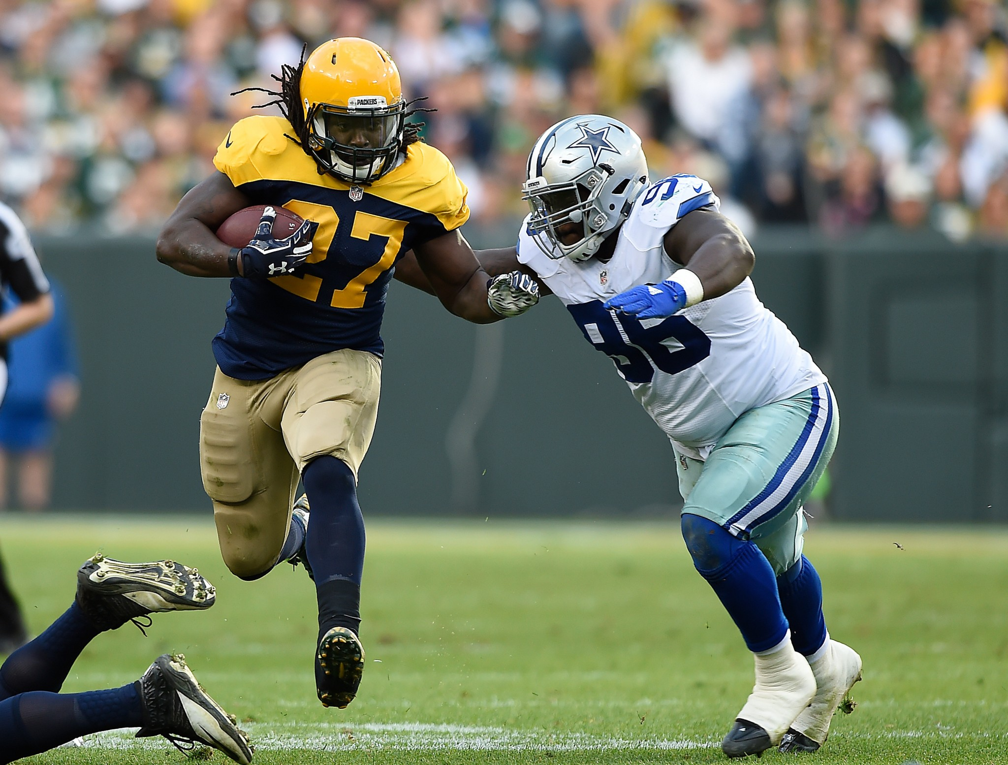 Eddie Lacy to IR puts even more pressure on Aaron Rodgers