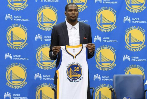 Report: Warriors looking to earn more from jersey ad than any N…