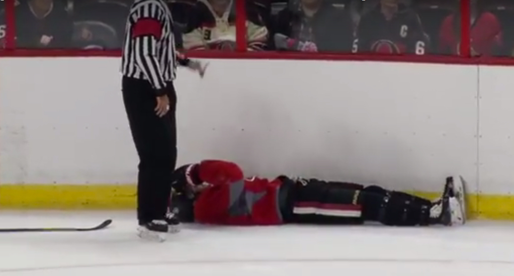 MacArthur concussed in Senators camp, fight breaks out (Video)